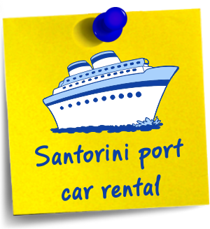 santorini port car rental